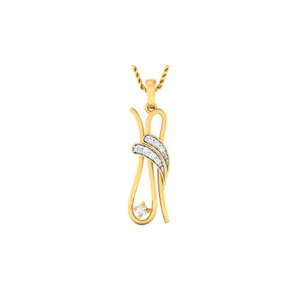 PUTUL DIAMOND FASHION PENDANT in 18K Gold