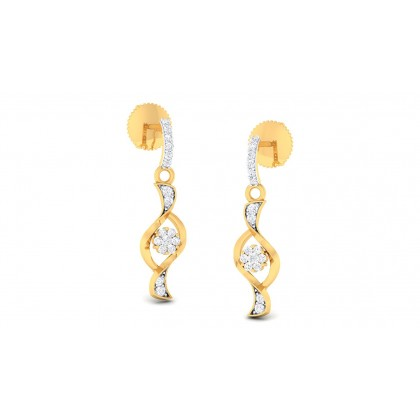 ANUMITA DIAMOND DROPS EARRINGS in 18K Gold