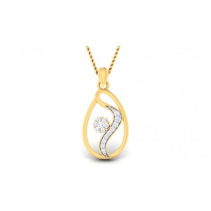 PAVITRA DIAMOND FASHION PENDANT in 18K Gold