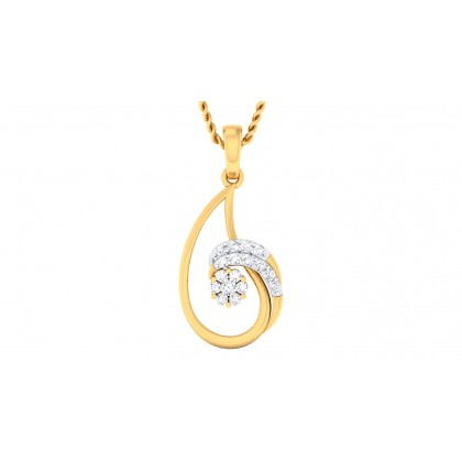 SUNITI DIAMOND FASHION PENDANT in 18K Gold
