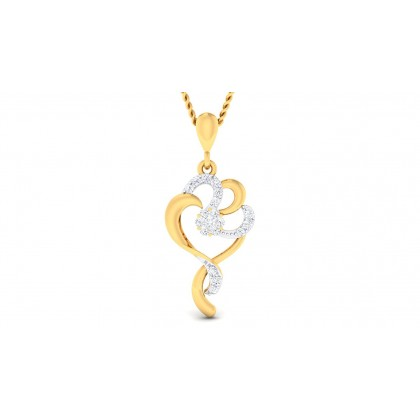 SHIPRA DIAMOND FASHION PENDANT in 18K Gold