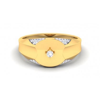 CARLA DIAMOND CASUAL RING in 18K Gold