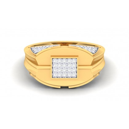 ALEX DIAMOND CASUAL RING in 18K Gold