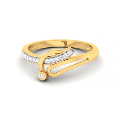NIRUPA DIAMOND CASUAL RING in 18K Gold