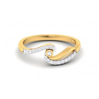 MASARA DIAMOND CASUAL RING in 18K Gold