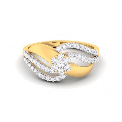 SAPNA DIAMOND CASUAL RING in 18K Gold