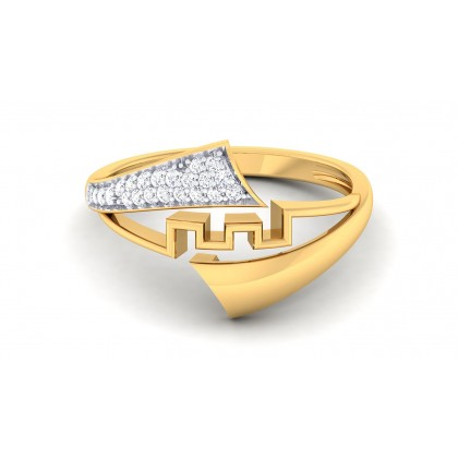 SAKHI DIAMOND CASUAL RING in 18K Gold