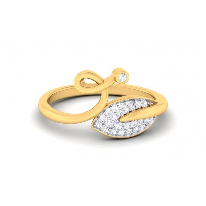 RASNA DIAMOND CASUAL RING in 18K Gold