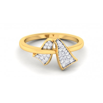 ANTONIA DIAMOND CASUAL RING in 18K Gold