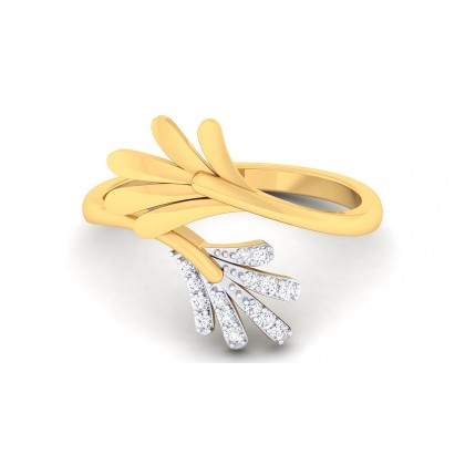 SHUKTI DIAMOND CASUAL RING in 18K Gold