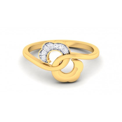 ASMITA DIAMOND CASUAL RING in 18K Gold