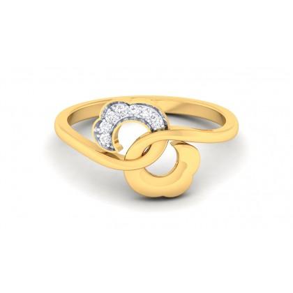 ASMITA DIAMOND CASUAL RING in 18K Gold