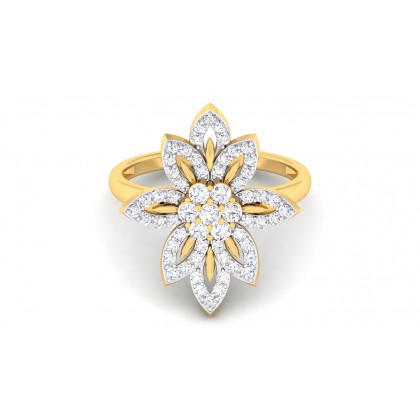 MIA DIAMOND COCKTAIL RING in 18K Gold