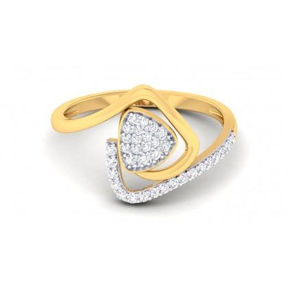 SUNAINA DIAMOND COCKTAIL RING in 18K Gold