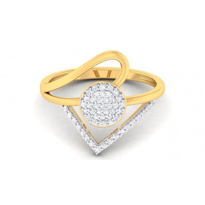 DEBORA DIAMOND COCKTAIL RING in 18K Gold