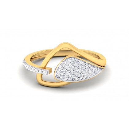 ANABEL DIAMOND COCKTAIL RING in 18K Gold