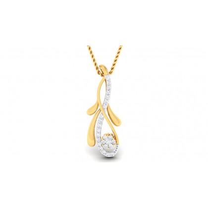 SHAILA DIAMOND FASHION PENDANT in 18K Gold