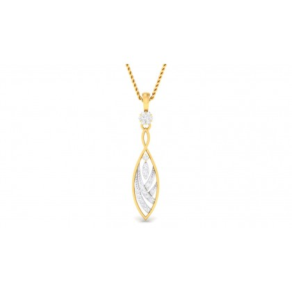 HARSHA DIAMOND FASHION PENDANT in 18K Gold