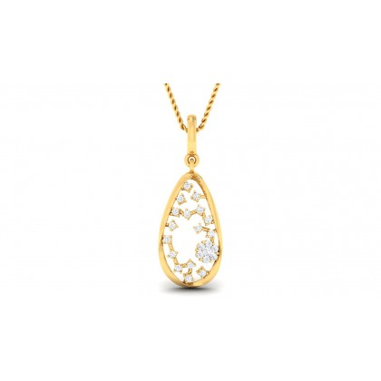 ANVITA DIAMOND FASHION PENDANT in 18K Gold