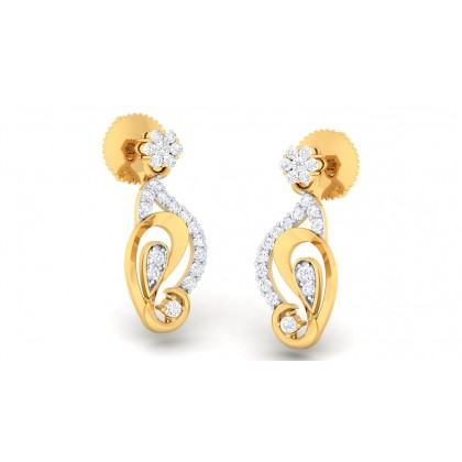 SHUKTI DIAMOND DROPS EARRINGS in 18K Gold