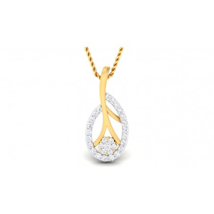ASHWINA DIAMOND FASHION PENDANT in 18K Gold