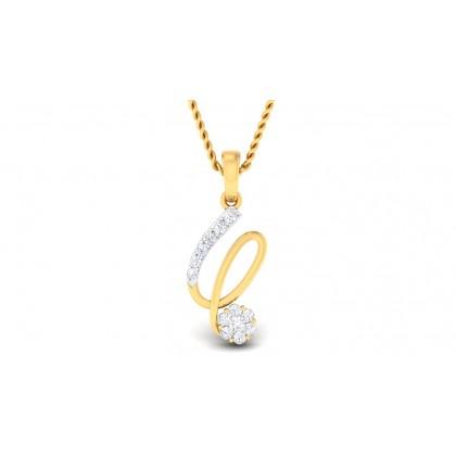 ALPITA DIAMOND FASHION PENDANT in 18K Gold