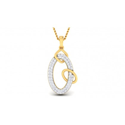 MARALA DIAMOND FASHION PENDANT in 18K Gold