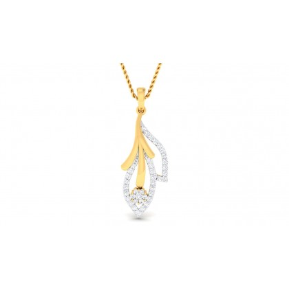 SIYA DIAMOND FASHION PENDANT in 18K Gold
