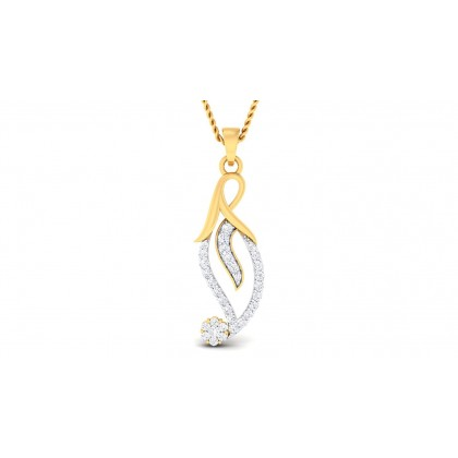 MASUM DIAMOND FASHION PENDANT in 18K Gold