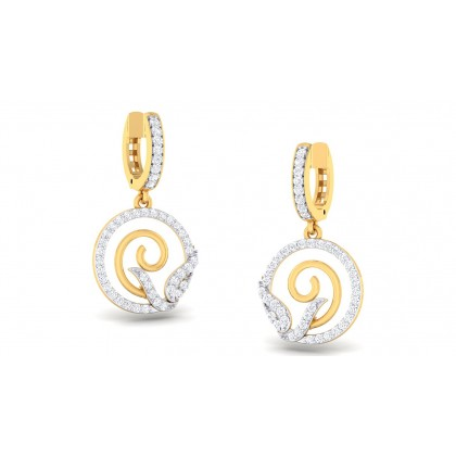 SELAH DIAMOND DROPS EARRINGS in 18K Gold
