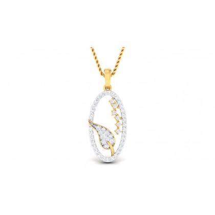 ZAIDA DIAMOND FASHION PENDANT in 18K Gold