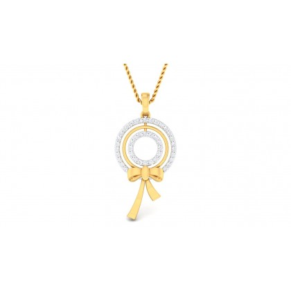 GISELE DIAMOND FASHION PENDANT in 18K Gold