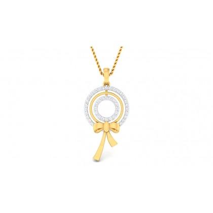 GISELE DIAMOND FASHION PENDANT in 18K Gold