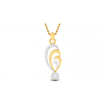 KASHISH DIAMOND FASHION PENDANT in 18K Gold