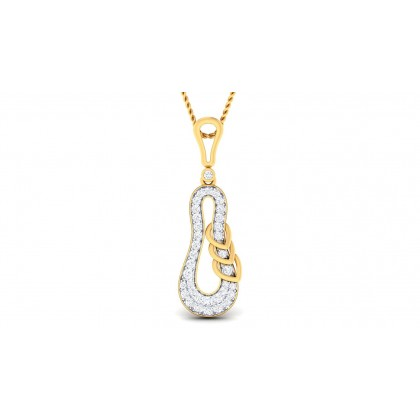 SHAY DIAMOND FASHION PENDANT in 18K Gold