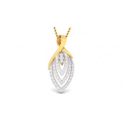 MANASA DIAMOND FASHION PENDANT in 18K Gold