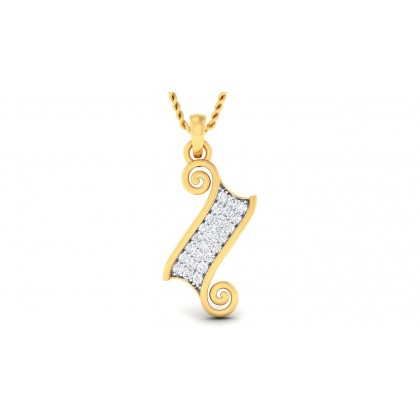 SHAMA DIAMOND FASHION PENDANT in 18K Gold
