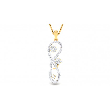RAFAELA DIAMOND FASHION PENDANT in 18K Gold