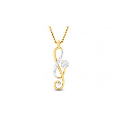 SMITA DIAMOND FASHION PENDANT in 18K Gold