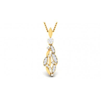 RUPAL DIAMOND FASHION PENDANT in 18K Gold