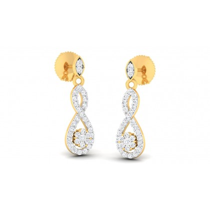 SABITA DIAMOND DROPS EARRINGS in 18K Gold