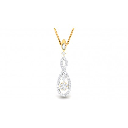 SASHI DIAMOND FASHION PENDANT in 18K Gold