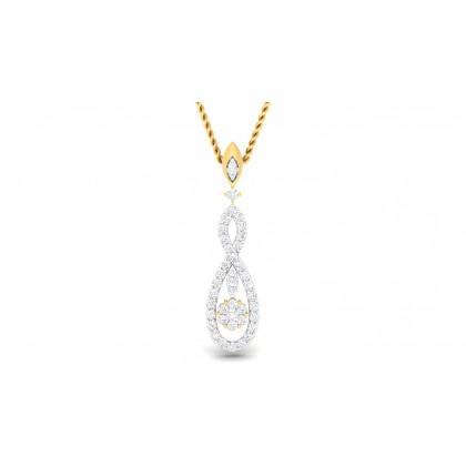 SASHI DIAMOND FASHION PENDANT in 18K Gold