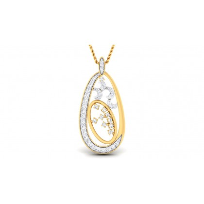 RHEA DIAMOND FASHION PENDANT in 18K Gold