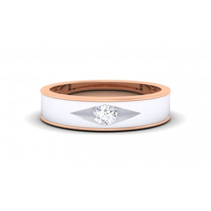 SANVI DIAMOND BANDS RING in 18K Gold