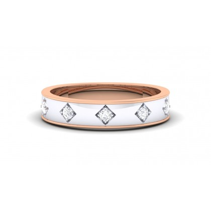 AJAYA DIAMOND BANDS RING in 18K Gold