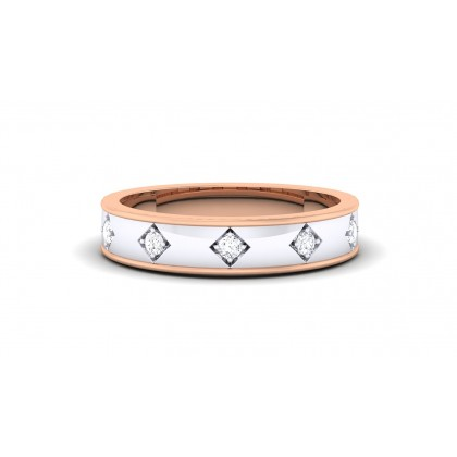 SOFIE DIAMOND BANDS RING in 18K Gold