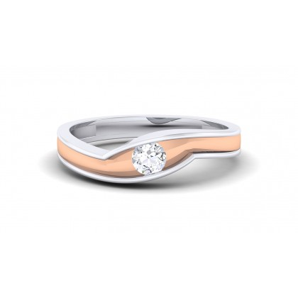 SARALA DIAMOND BANDS RING in 18K Gold
