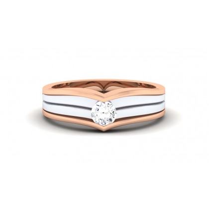 DAMINI DIAMOND BANDS RING in 18K Gold
