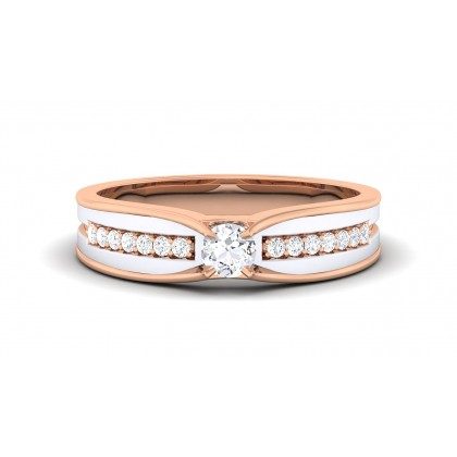 SARUPA DIAMOND BANDS RING in 18K Gold